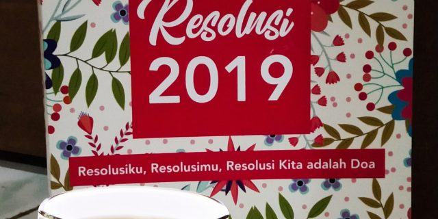 Resolusiku Tahun 2019